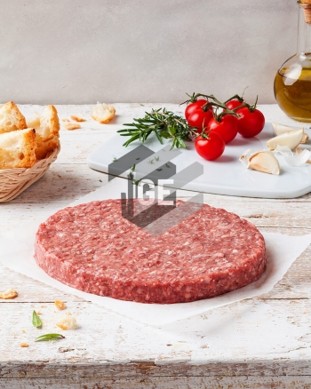 Beef burger - All meat 95% - Micro-Perforated