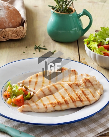 Chicken breast slice - Whole grilled