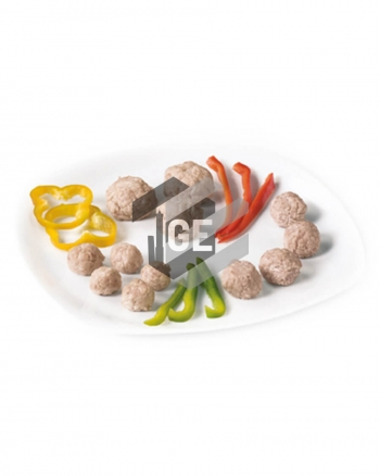 Chicken and turkey meatballs